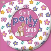 Girls' Potty Time [With Sticker(s)], Hardcover