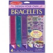 Креативен комплект - Направи си сам цветни гривни - 14217 - Melissa and Doug, 000772142175