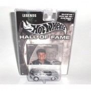Mattel Hot Wheels 2002 Hall Of Fame Legends 1:64 Scale 35th Anniversary Silver 1963 Vic Edelbrock Chevy Corvette Die Cast Car