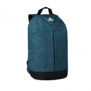 Rucsac anti-furt, poliester 600D, Everestus, RU21, albastru, saculet de calatorie si eticheta bagaj incluse