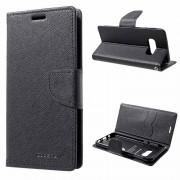 Bolsa Tipo Carteira Mercury Goospery Fancy Diary para Samsung Galaxy S10e - Preto
