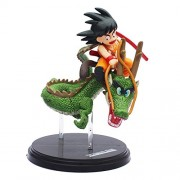 Dragon Ball Z Goku Super DBZ Japanese Anime Characters Action Figure Collectable Figures (Gohan Riding Shenron Dragon, 15 cm)