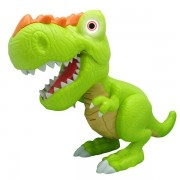 Figurina interactiva Dinozaur Junior T-Rex Cu Lumini Si Sunete - Verde