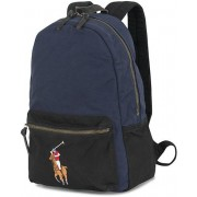 Polo Ralph Lauren Canvas Big Pony Backpack Navy/Black