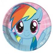 Rainbow Pony tanjir kartonski 1/8 23 cm