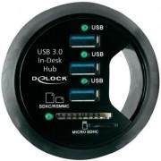 Beépíthető USB 3.0 HUB kártyaolvasóval (989915)