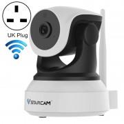 VSTARCAM C24S 1080P HD 2 0 megapixel draadloze IP-camera ondersteuning TF-kaart (128GB Max)/nachtzicht/bewegingsdetectie UK plug