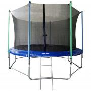 Cama elástica 3,66 metros MRS Toys-Azul
