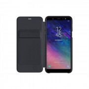 Samsung Ef-Wa605cbegww Wallet Cover Per Smartphone Galaxy A6 Plus Colore Nero
