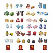 TRANSFORMERS BOTBOTS TOYS SERIES 1 JOCK SQUAD 8-PACK - MYSTERY 2-IN-1 FIGURES - HASBRO (HBE3494-E4144)