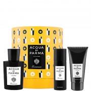 Acqua di Parma Colonia Essenza Cappelliera 100 ML Eau de Cologne + 75 ML Gel Doccia + 50 ML Deodorante Spray