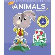 Animals (Make It Now!): Press Out and Play