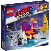 Конструктор Лего Филмът 2 - Представяне на Кралица Каквато Иска Да е, LEGO Movie 2 70824