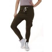 Madnezz MAD142 Spodnie Baggy Bojówki - Khaki