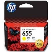 Consumabil HP Cartus 655 Yellow Ink Cartridge