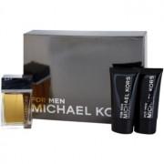 Michael Kors Michael Kors for Men coffret I. Eau de Toilette 120 ml + bálsamo after shave 75 ml + gel de duche 75 ml