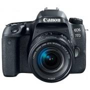 Canon Aparat CANON Eos 77D Czarny + Obiektyw 18-55 IS STM