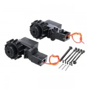 HuiNa Upgrade Professional Metal Driving Wheel for RC Excavator
