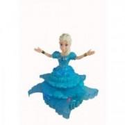 Papusa muzicala dansatoare Elsa PAM-PrincessE cu joc de lumini si muzica albastra