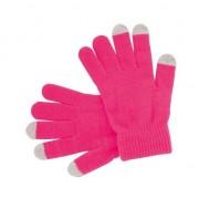 Geen Touchscreen handschoenen roze