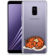 Samsung Galaxy A8 Plus 2018 Hoesje Sleeping Dragon
