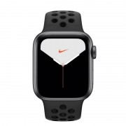 Apple Watch Nike Series 5 GPS + Cellular 40mm Alumínio Cinzento Espacial com Correia Desportiva Antracite/Preta