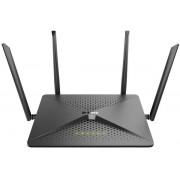 Router Wireless D-Link DIR-882, Ggabit, Dual Band, 2600 Mbps, 4 Antene Externe (Negru)