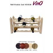 Raft VinO din lemn 3x6 - 18 sticle