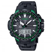 Casio PRO TREK Triple Sensor Version 3 TOUGH SOLAR Watch PRW-6100FC-1 - Green