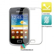 Set 2 buc Folie Mata Antiglare Protectie Ecran Samsung Galaxy Mini 2 S6500
