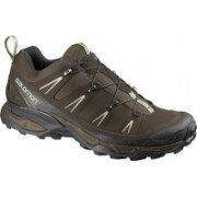 Salomon X ULTRA LTR Hiking & Trekking Shoes For Men(Brown, Green)