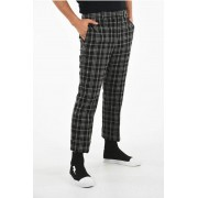 Neil Barrett Pantaloni Slim Fit a Quadri taglia 46