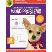 Addition and Subtraction Word Problems Workbook - Grades 1-2