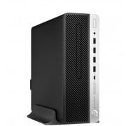 Desktop, HP ProDesk 600 G4 SFF /Intel i5-8500 (4.1G)/ 8GB RAM/ 1000GB HDD/ Win10 Pro + подарък KBD&Mouse (4HM97EA)
