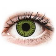 TopVue Color - Fresh green (Свежо зелени ) - с диоптър дневни (10 лещи)