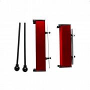 A & D Resonator Bell Set - Red Plastic Set Contains D5 & A5 Bells
