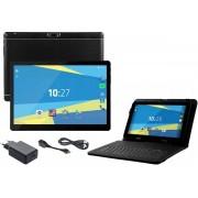 Overmax Qualcore 1027 3G 16GB tablet - 2GB RAM inclusief toetsenbord/etui - Zwart