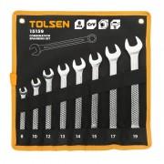 Set chei pentru piulite combinate Cr-V Tolsen, 8 piese