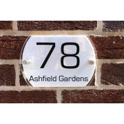 Fab Deco Ltd - Deco Matters £7.99 for personalised acrylic curve shaped door sign from Deco Matters!