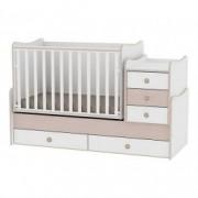 LORELLI krevetić maxi plus 70/160 white/oak 10150300029