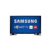 Smart TV LED 43 Samsung 43j5200 Full HD Conversor Digital 2 HDMI 1 USB - Preto