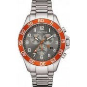 Ceas Barbatesc Nautica NAI17511G Silver-Orange