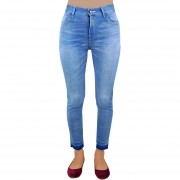 Pantalon De Mezclilla Innermotion Para Dama Skinny Fit - Azul 1239