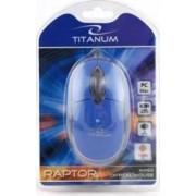 Mouse Esperanza Titanum TM102B Optic 1000DPI Albastru
