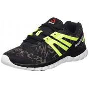 Reebok Men's Sublite Xt Cushion Grftmt Black, Yellow and White Running Shoes - 9 UK