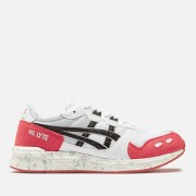 Asics Men's Lifestyle Hyper Gel Lyte Trainers - White/Rouge - UK 8 - White