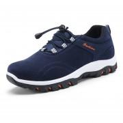 Zapatos Suelas De Los Oxford Calzado Deportivo Zapatos Al Aire Libre Casuales - Azul