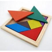 Dřevěné puzzle pro malé děti