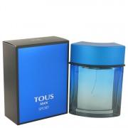 Tous Man Sport Eau De Toilette Spray By Tous 3.4 oz Eau De Toilette Spray