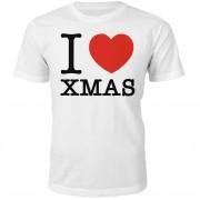 I Heart Xmas Christmas T-Shirt - White - M - White